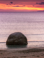 Италия. Сардиния. Sunset at the beach in Sardinia. Фото Daniele Carotenuto - Depositphotos