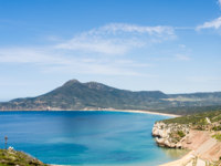 Италия. Садиния. Landscape of sulcis coast, in the south-west sardinia, italy. Фото marmo81 - Depositphotos