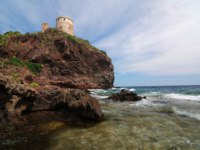 Италия. Сардиния. Sardinian lighthouse.  Фото fyletto - Depositphotos