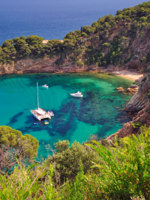 Испания. Каталония. Коста Брава. Coastal Landscape,Costa Brava,Spain. Фото eurotravel Depositphotos