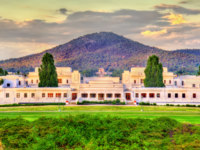 Old Parliament House in Canberra. It was the seat of the Parliament of Australia from 1927 to 1988. Фото Leonid_Andronov - Depositphotos