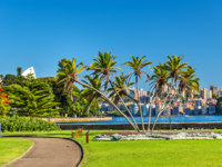 The Royal Botanical Garden of Sydney - Australia, New South Wales. Фото Leonid_Andronov - Depositphotos