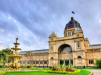 The Royal Exhibition Building, a UNESCO world heritage site in Melbourne, Australia. Фото Leonid_Andronov - Depositphotos