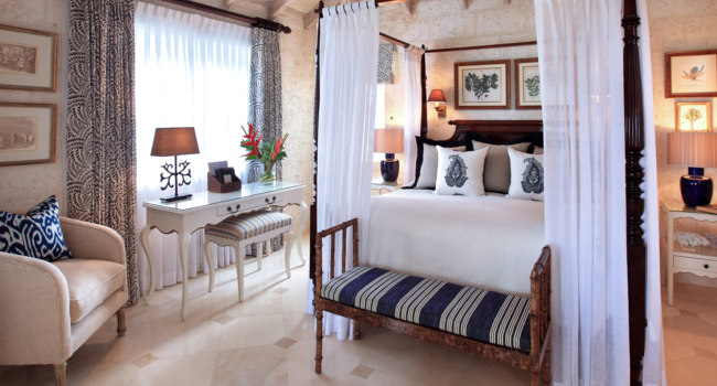 Клуб путешествий Павла Аксенова. Барбадос. Coral Reef Club. Luxury Plantation Suite Bedroom