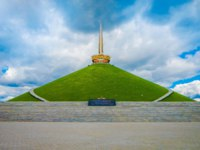 Белоруссия. Город-герой Минск. Memorial of the Second World War Hill of Glory , part of the Khatyn memorial complex. Minsk. Belarus. Фото pxhidalgo-Deposit