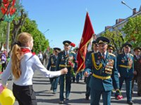 Белоруссия. Город-герой Минск. Celebrating of anniversary of the Victory in the Great Patriotic War 1941-1945 in district Slutsk, the Minsk area. Фото n.shumanski-Dep