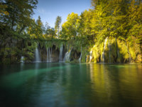 Клуб путешествий Павла Аксенова. Хорватия. Plitvice Lakes National Park, Croatia. UNESCO world heritage site. Фото javarman - Depositphotos