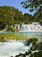 Клуб путешествий Павла Аксенова. Хорватия. Waterfall KRKA in Croatia. Фото Violin - Depositphotos