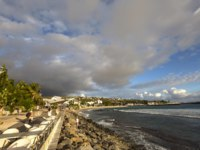 Заморские территории Франции. Остров Реюньон. Saint gilles beach, La Reunion island, Indian Ocean in Saint Gilles, La Reunion, France. Фото isogood-Deposit