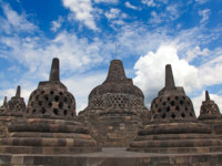 Клуб путешествий Павла Аксенова. Индонезия. Боробудур. Borobudur temple in Indonesia. Фото Fedor Selivanov - Depositphotos