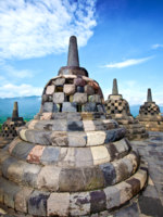 Клуб путешествий Павла Аксенова. Индонезия. Боробудур. Borobudur temple in Jogjakarta. Фото JURIAH MOSIN - Depositphotos