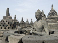 Клуб путешествий Павла Аксенова. Индонезия. Боробудур. Borobudur. Фото Chris Waters - Depositphotos