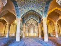 Иран. Шираз. Мечеть Вакиль. Vakil Mosque is one of the medieval religious landmarks of the city, it was constructed in traditional style in Shiraz. Фото efesenko-Deposi