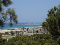 Клуб Павла Аксенова. Израиль. Ашдод. Park Ashdod-Yam, in the city Ashdod, Israel. View of the Mediterranean Sea. Фото AmeKamura - Depositphotos