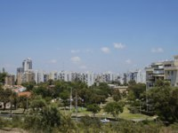 Клуб Павла Аксенова. Израиль. Ашдод. Photo of a view of the city Ashdod, Israel from the park Park Ashdod-Yam, summer. Фото AmeKamura - Depositphotos