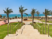 Израиль. Ашдод. Stone stairs in urban park with beautiful view on Mediterranean sea in Ashdod, Israel. Фото rglinsky - Depositphotos
