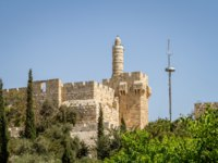Израиль. Иерусалим. Башня Давида. View of the Tower of David, the ancient Jerusalem Citadel, Old City of Jerusalem, Israel. Фото alefbet - Depositphotos