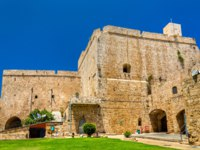 Израиль. Акко. Citadel of Acre, an Ottoman fortification in Israel. Old town of Acre is a UNESCO Heritage Site. Фото Leonid_Andronov - Depositphotos