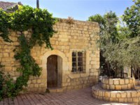Израиль. Цфат. Old stone house in the Jewish religious quarter in Safed, Upper Galilee, Israel. Фото irisphoto11-Depositphotos