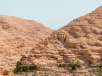 Израиль. Wadi Qelt in Judean desert around St. George Orthodox Monastery, or Monastery of St. George of Choziba, Israel. Фото Jukov-Depositphotos