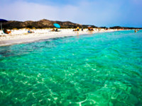 Италия. Сардиния. Transparent Green whater of the Thyrenian sea in Sardinia, Italy. Фото sailorr - Depositphotos