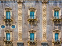 Италия. Сицилия. Катания. University of Catania residing in the former monastery of benedettini di san Nicolo, Sicily, Italy. Фото Dudlajzov - Depositphotos