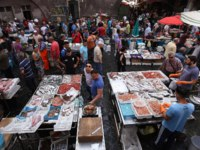 Италия. Сицилия. Катания. Catania fish market in the morning, Sicily, Italy. Фото isogood - Depositphotos