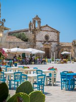 The picturesque village of Marzamemi, in the province of Syracuse, Sicily. Фото e55evu - Depositphotos