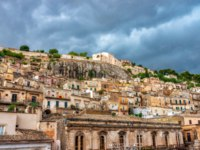 Клуб путешествий Павла Аксенова. Италия. Сицилия. Модика. View of the ancient town Modica, Sicily, Italy. Фото Byelikova - Depositphotos