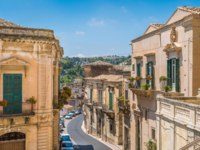 Клуб путешествий Павла Аксенова. Италия. Сицилия. Модика. Scenic sight in Modica, famous baroque town in Sicily, southern Italy. Фото e55evu - Depositphotos