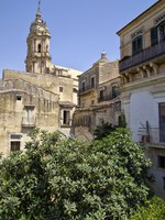 Италия. Сицилия. Модика. The historical city center of Modica in Sicily, Italy is a UNESCO world heritage site. Фото gadzius - Depositphotos