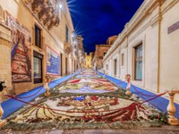Италия. Сицилия. Ното. The Flower Festival of Noto in Sicily. Фото micheleponzio - Depositphotos