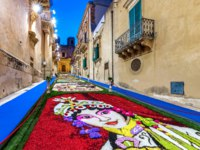 Италия. Сицилия. Ното. The Flower Festival 2018 of Noto in Sicily. Фото micheleponzio - Depositphotos