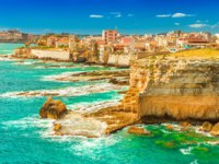 Клуб путешествий Павла Аксенова. Италия. Сицилия. Сиракузы. Beautiful seascape in Syracuse, Sicily, Italy. Фото RS.photography - Depositphotos