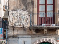 Италия. Сицилия. Сиракузы. Wall of the house on the island of Ortigia in Syracuse, Sicily. Фото Alesinya - Depositphotos