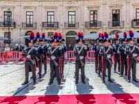 Италия. Сицилия. Сиракузы. Parade of the carabinieri - June 05 2019. Syracuse Sicily Italy. Фото micheleponzio - Depositphotos