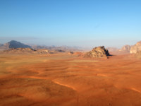 Клуб путешествий Павла Аксенова. Иордания. Wadi Rum Desert beautiful landscape from above. Jordan. CarlosNeto - Depositphotos