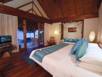 Мальдивы. Anantara Dhigu Resort & Spa, Maldives. Sunrise or Sunset Beach Villa Bedroom