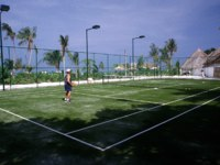 Мальдивы. Gili Lankanfushi Resort, Maldives. Tennis. Фото Ulli Schonart