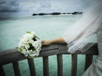 Мальдивы. Gili Lankanfushi Resort, Maldives. Wedding Bouquet