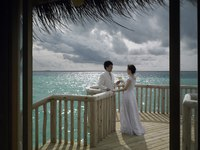Мальдивы. Gili Lankanfushi Resort, Maldives. Wedding Pavilion. Фото Jorg Sundermann