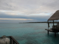 Малдивы. Shangri-La's Villingili Resort & Spa, Maldives. Water Villa. Фото Павла Аксенова