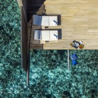Мальдивы. The St. Regis Maldives Vommuli Resort. Overwater Villa with Pool - Mood