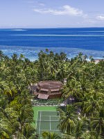The St. Regis Maldives Vommuli Resort. Outdoor Tennis Court