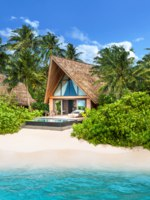 The St. Regis Maldives Vommuli Resort. Beach Villa with Pool - Exterior