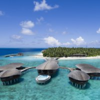 Мальдивы. The St. Regis Maldives Vommuli Resort. Aerial Iridium Spa