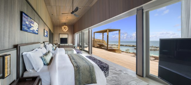 Мальдивы. The St. Regis Maldives Vommuli Resort. John Jacob Astor Estate - Suite with Twin Bed
