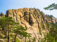 Северная Корея. Алмазные горы. Landscape of the spectacular view of the nature of the rocks of the Mount Kumgang. Фото Siempreverde - Depositphotos