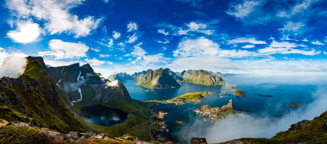 Блог Павла Аксенова. Норвегия. Lofoten is an archipelago in the county of Nordland, Norway. Фото cookelma - Depositphotos