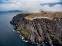 Блог Павла Аксенова. Норвегия. Barents Sea coast North Cape (Nordkapp) in northern Norway. Фото cookelma - Depositphotos